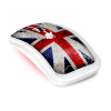 Souris ADVANCE WIRELESS TRENDY UNION JACK MOUSE - USB, multicolor