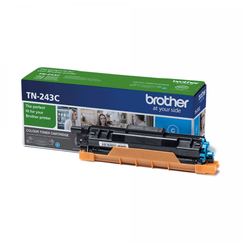 BROTHER TN243C - Cartouche toner laser cyan, 1000 pages