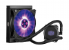 COOLER MASTER MasterLiquid ML120L RGB - Radiateur ventilateur Socket 1150 / 1151 / 1155 / 1156 / 2011 / 2011v3 / AMx / FMX, ventilateur 1 x 120 mm PWM